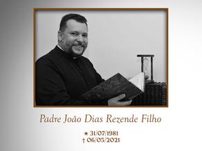 Nota de pesar - Padre João Dias