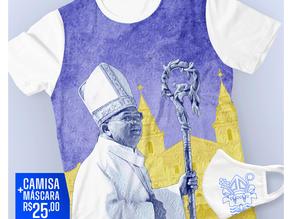 Camisa para acolhida de Dom Gilberto