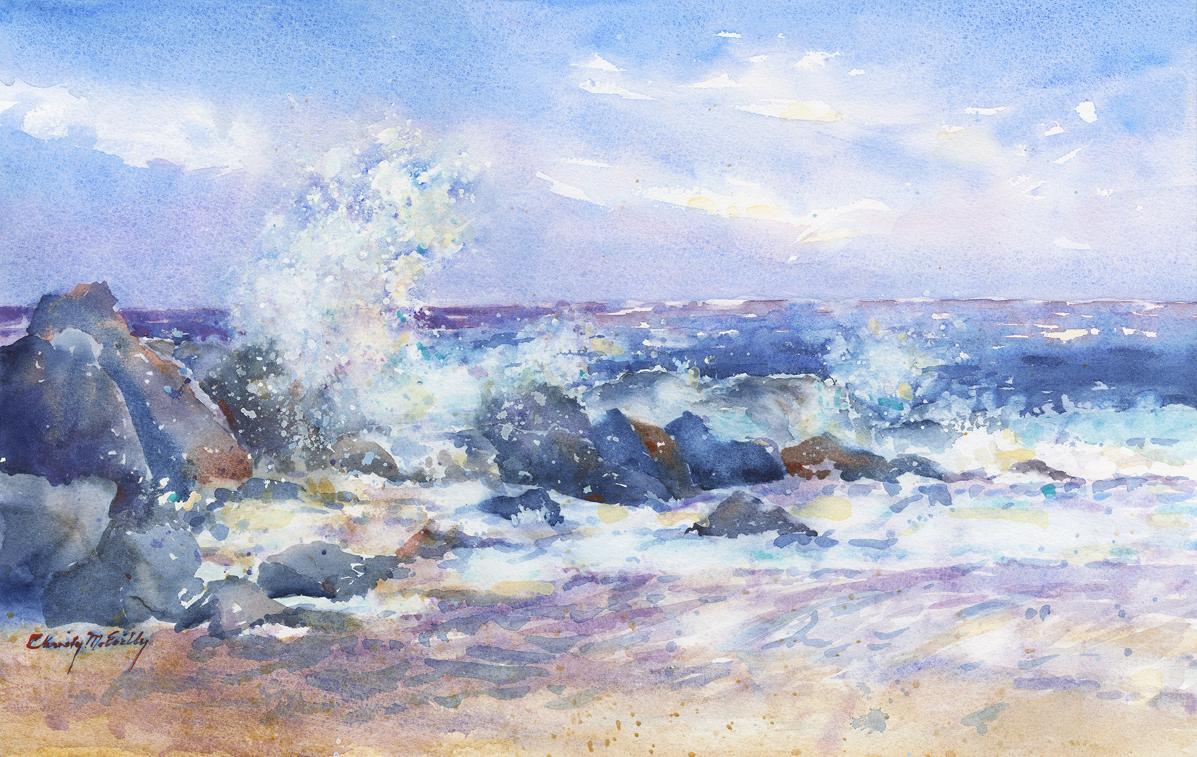High Surf - Herring Point