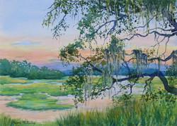 Sundown on the Marsh