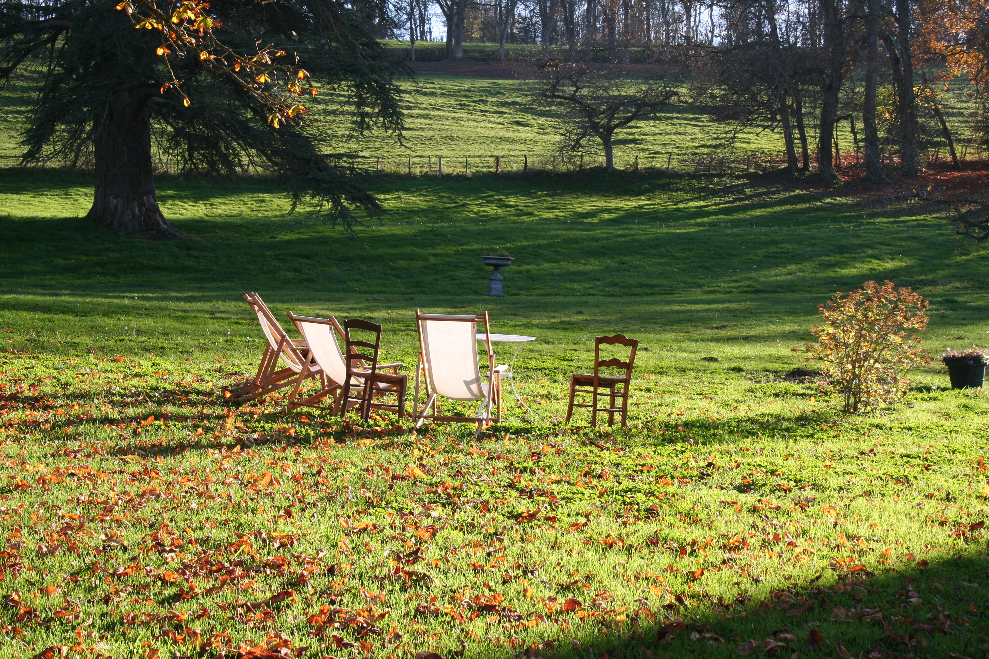 Jardins Château Morlet