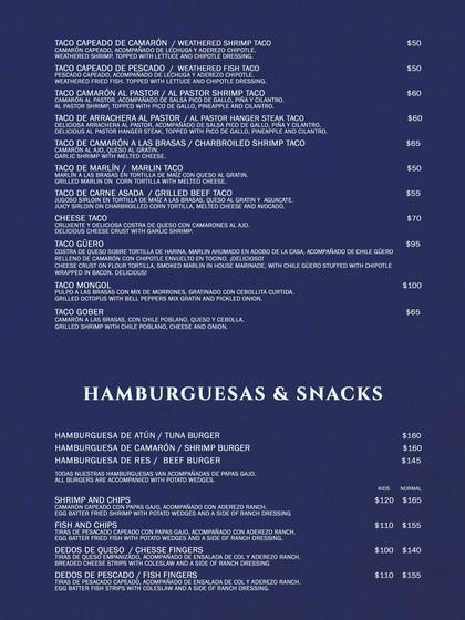 Tacos y Hamburguesas