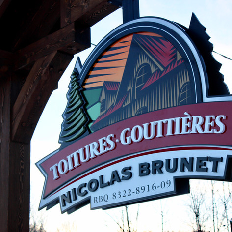 Toitures & gouttières Nicolas brunet