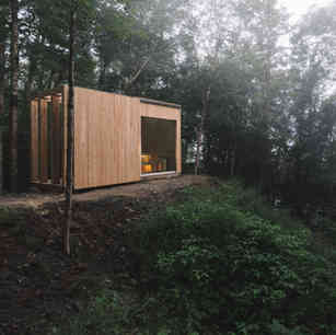 Construction Panache - Mont-Tremblant - Hinterhouse