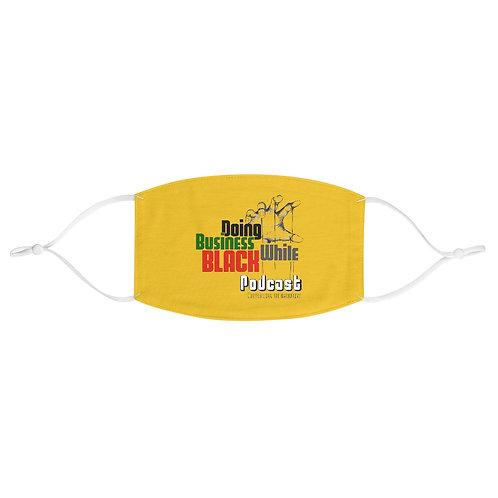 DBWB Logo Face Mask Yellow