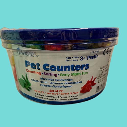 Learning Resources Pets Counters, Educational Counting and Sorting Toy