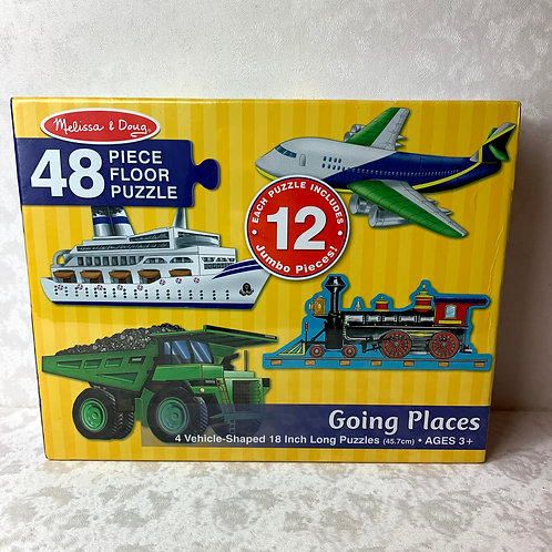 Melissa & Doug Going Places Floor Puzzle