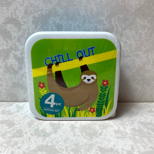 So- Mine 4 Piece Lunch Containers