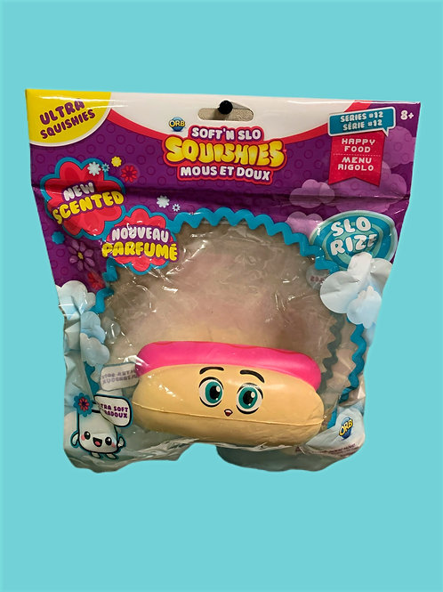 Soft'n Slo Squishies-Cute Fidget & Sensory-Hot Dog