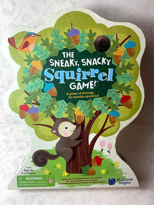The Sneaky, Snacky Squirrel Toddler Game