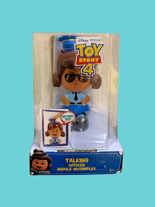 Pixar Toy Story 4 - Talking Officer Giggle McDimples