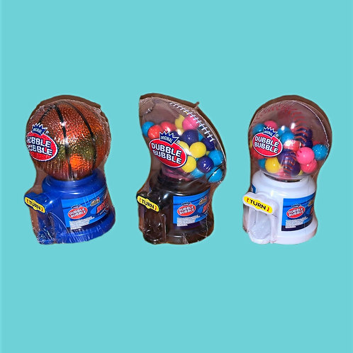 Dubble Bubble  Hot Sports Gum Ball Dispenser