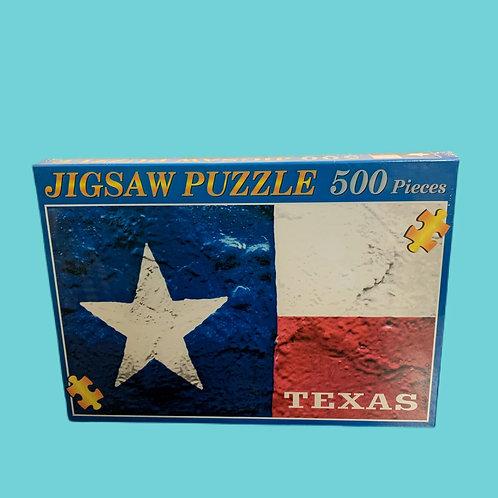 Texas Flag Jigsaw Puzzle, 500 Pieces
