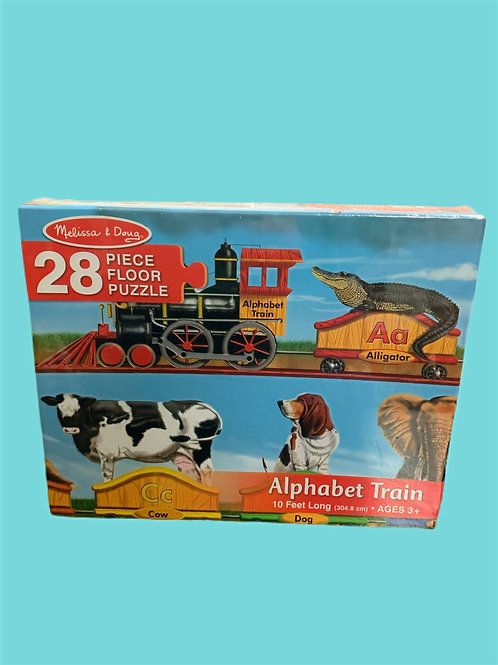 Melissa & Doug Alphabet Train Floor 28pc Floor Puzzle
