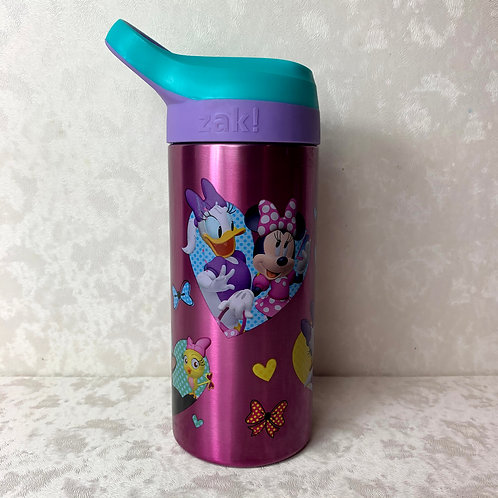 Zak Minnie Mouse Stainless Steel Water Bottle