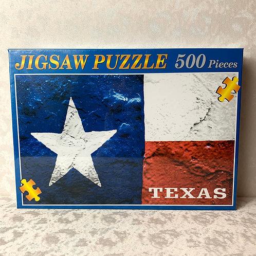 Texas Flag Jigsaw Puzzle