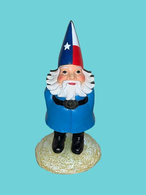 Texas Garden Gnome