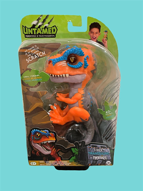 Untamed T-Rex by Fingerlings – Scratch (Orange) - Interactive  Dinosaur