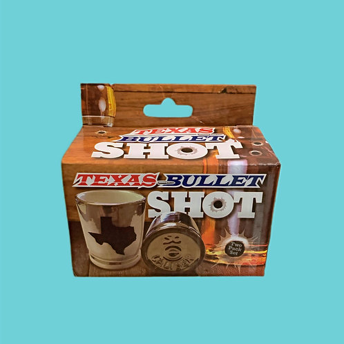 Texas Bullet Shot Glasses 2 pack