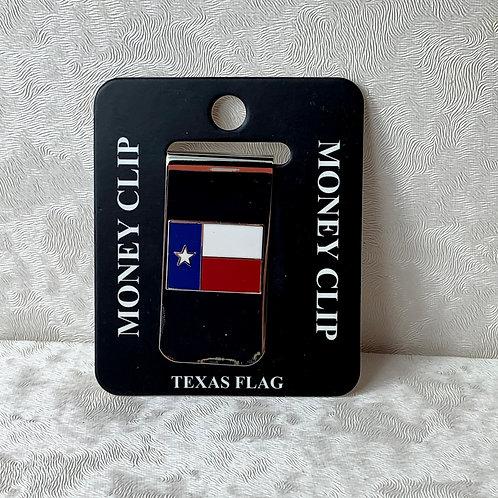 Texas Flag Money Clip