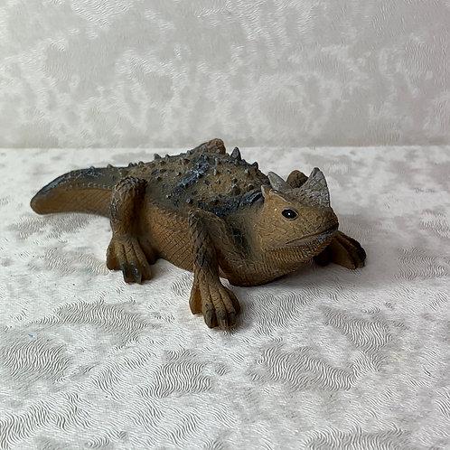 Texas Horned Frog Lizard Figurine