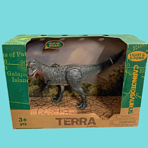 Terra by Battat – Electronic Dinosaur with Light & Sound – Carnotaurus Toy