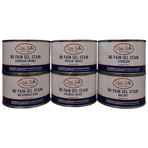 No Pain Gel Stain (Oil-Based)