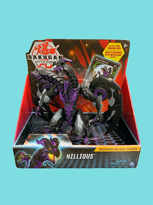 Bakugan Nillious Deluxe Figure with Trading Card