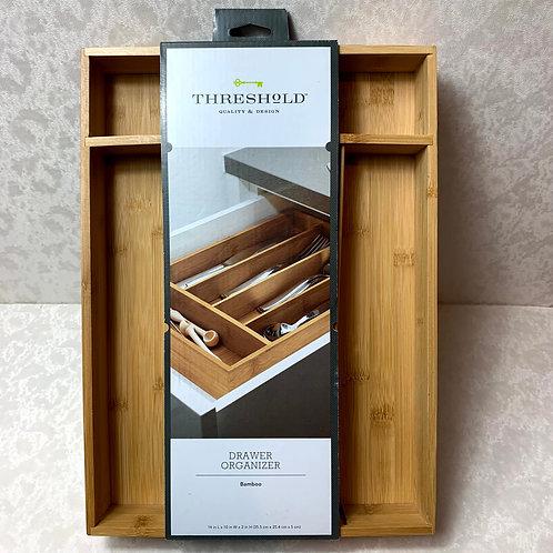 Bamboo Flatware Drawer Organizer - Threshold™