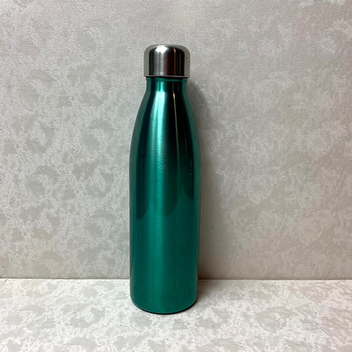17.5 oz Double Wall Stainless Steel Vacuum Water Bottle