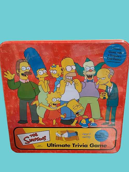 Simpson Ultimate Trivia Game in Collectible Tin (2002) by Cardinal