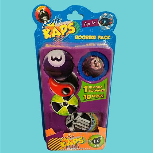 Pog Retro Kaps Booster Pack Game Includes: 10 Pogs & 1 Slammer