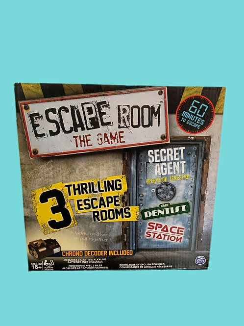 Spin Master Games - Escape Room The Game with 3 Thrilling Escape Games