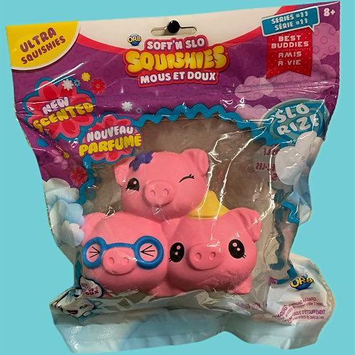 Soft'n Slo Squishies-Cute Fidget & Sensory-Piggies