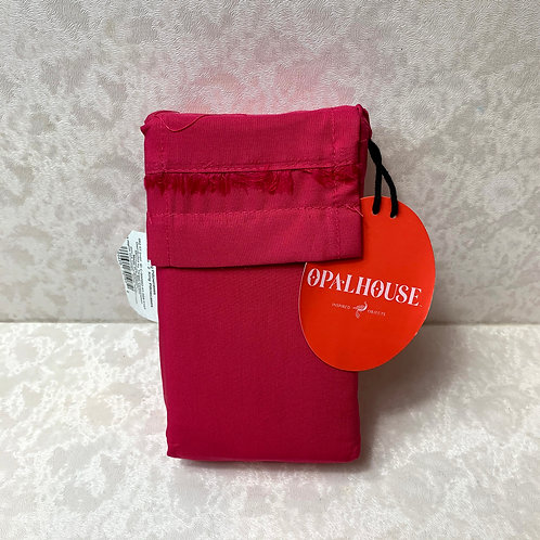 Solid Pink Cotton King Pillowcase Set - Opalhouse™