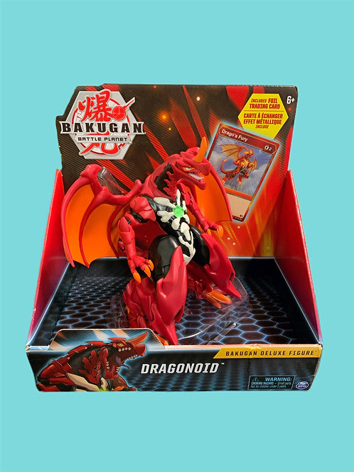 Bakugan Dragonoid Deluxe Figure with Trading Card