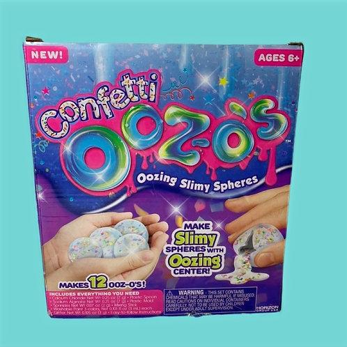 Ooz-os Confetti Oozing Slimy Spheres Kit