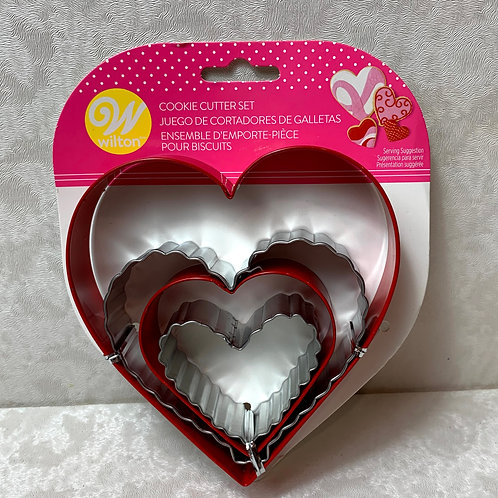 Wilton Nesting Hearts Cookie Cutter Set, 4-Piece