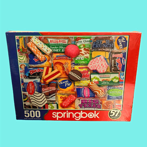 Springbok's 500 Piece Jigsaw Puzzle Snack Treats