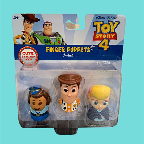 Toy Story 4 -Finger Puppets - 3 Pack