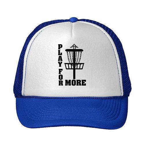 PFM Disc Golf Snap Back Trucker Hat