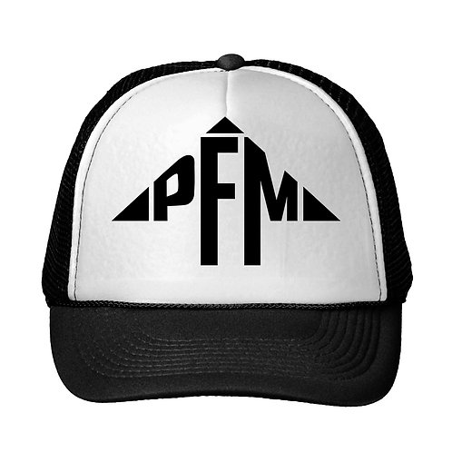 PFM Logo Snap Back Trucker Hat
