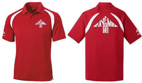 Full Arrow Front and Back Colorblock Polo