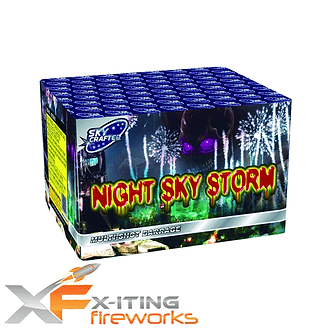The Night Sky Storm