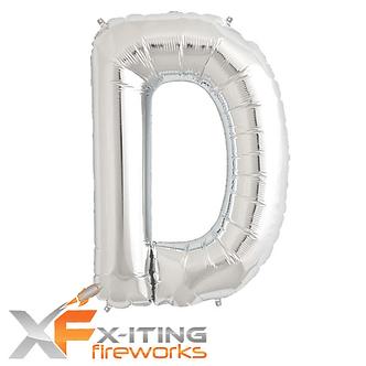 D Letter Helium Balloon