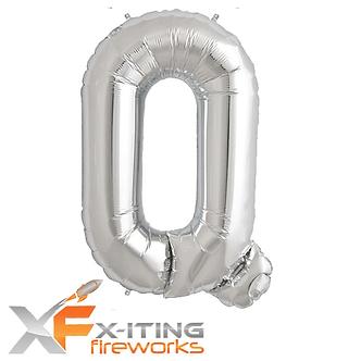 Q Letter Helium Balloons