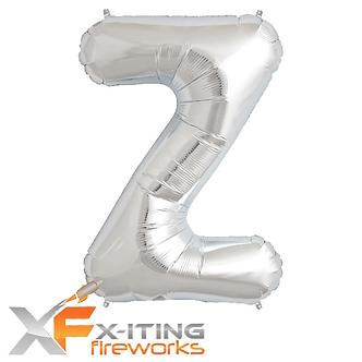 Z Letter Helium Balloons