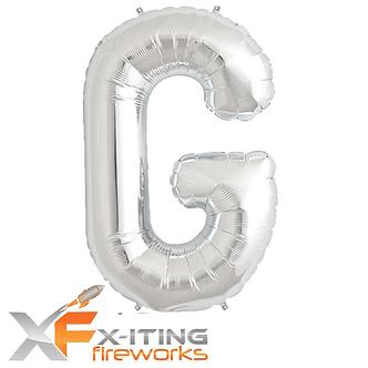 G Letter Helium Balloon