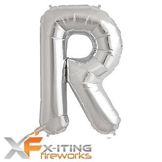 R Letter Helium Balloons