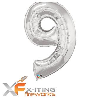 9 Number Helium Balloon
